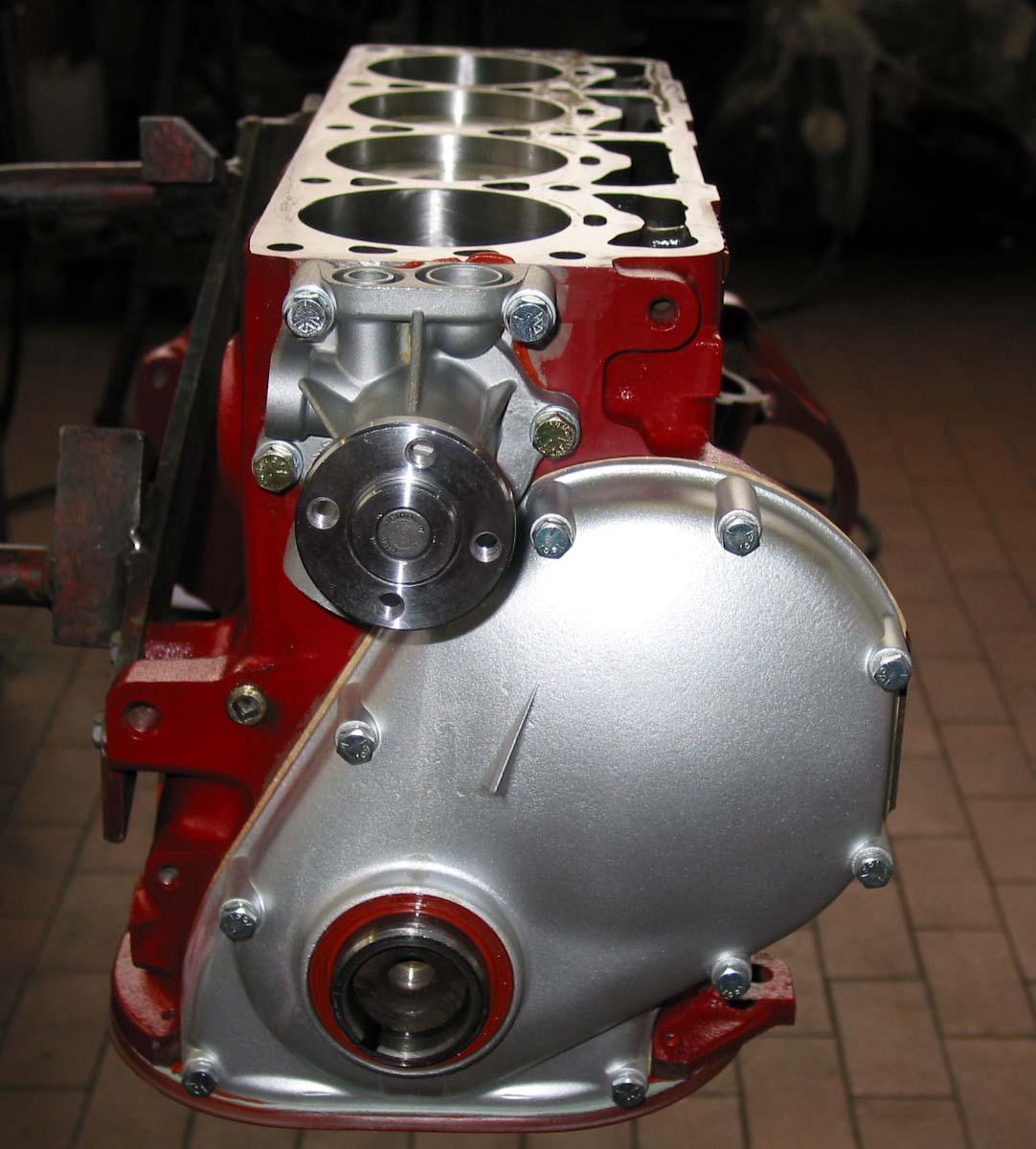 Überholter Volvomotor